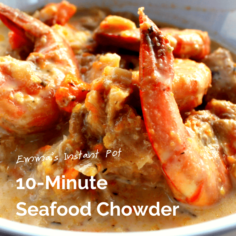 10-Minute Seafood Chowder