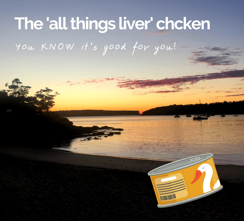 The 'all things liver' chicken