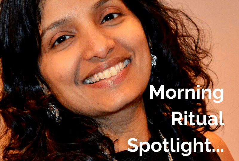 Morning Ritual Indira Shyju