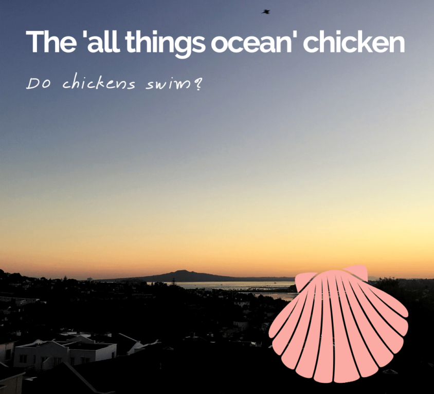 The 'all things ocean' chicken