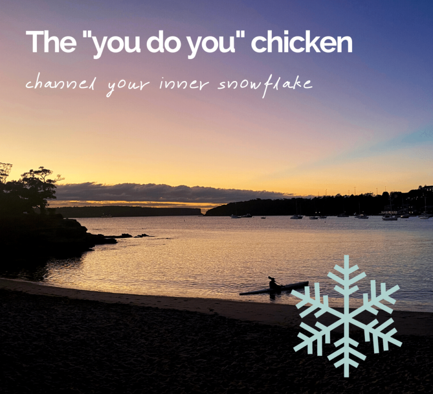 The 'you do you' chicken
